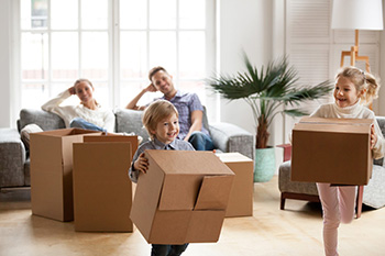 Moving with Kids - Moving Boxes
